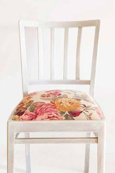 Krzesło w stylu retro Magiel