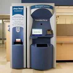 Pharmacy robot / Automated kiosk dispenses refills - SFGate