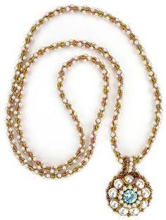 Beadwork August/September 2011 - Regina's Pearls by Cynthia Rutledge 2011
