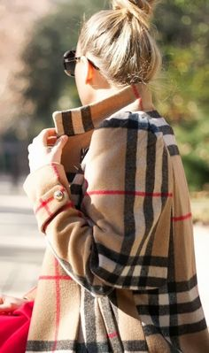 Classic Burberry Coat Fashion Trend