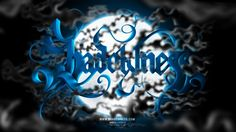 Shadowness, #Blue, #Graphic #Design, #Illustration, #Typography