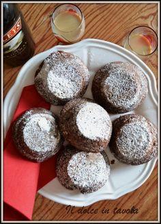 mini cake al cioccolato e baileys ~ Il dolce in tavola Biscotti, Baileys, Mini Cakes, Milano, Muffin, Breakfast, Desserts, Recipes, Food