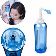 500 ML Dorosłych Dzieci System Mycia Czysty Sinus Nosa Nosa Ciśnienia Neti Pot