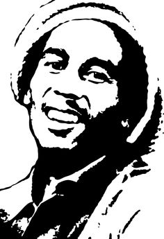 Bob Marley Silhouette Painting Andrew Braswell Pictures Picture Clipart