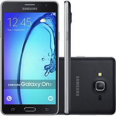 "Americanas Samsung Galaxy On7 Dual Chip Desbloqueado Android 5.1 Tela 5.5"" 8GB 4G 13MP - R$699"