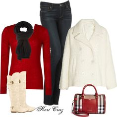 """""""Holiday Shopping in the City"""" by keri-cruz on Polyvore"""