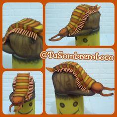 Gorra de Cien-pies #actoescolar #evento #infantil #TuSombreroLoco #arteengomaespuma