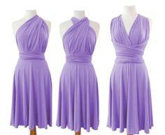 Infinity Dress Convertible/Twist light lilac color by Innesaline https://www.etsy.com/listing/278742134/infinity-dress-convertibletwist-light