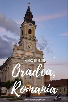 We ended our time in Transylvania with 2 days in Oradea. Here are our favorite things to do in Oradea to convince you to add it to your Romania itinerary. Europe Travel Tips, European Travel, Travel Advice, Travel Destinations, Travel Ideas, Best Travel Insurance, Chateau Medieval, Transylvania Romania, Romania Travel