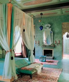 Mediterranean bedroom... holy. This is amazing. I freaking love it.
