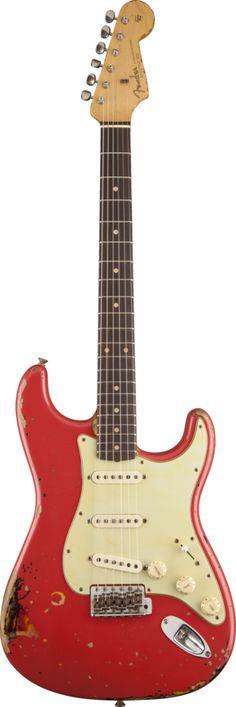 Michael Landau Signature 1963 Relic Stratocaster® Fiesta Red