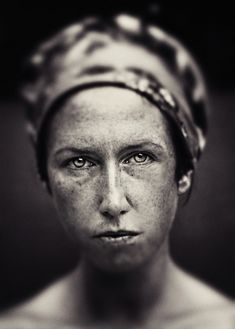 Portrait (to me...she's a hardworking factory worker while her husband is overseas at war)