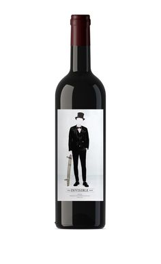 The Invisible Man #Tempranillo. Nueva añada 2014 #Wine #Vino #design