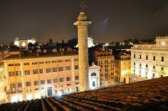 piazza colonna, via Flickr.