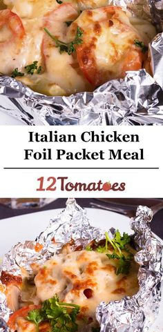 While the foil packet meal is a staple of campers everywhere, we like to bring the meal home and spice it up a bit. Here is one of our favorite versions of the foil packet meal: Italian chicken. Mozzarella, tomato, onion, parsley, and Italian dressing marinate the chicken and bake together in the foil, making the chicken extra tender and juicy!