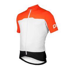 POC AVIP Essential Shirt Korte Mouwen Heren Oranje | Futurumshop.nl