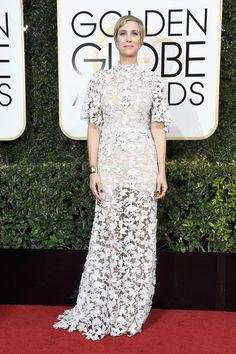 The Best of the Golden Globes 2017 Red Carpet Arrivals Kristen Wiig