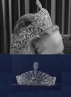 "Marquis of Anglesey diamond tiara (1959 Christie's & DeBeers ""Ageless Diamond"" exhibit). On the hunt for  color / higher quality images, this is an interesting tiara."