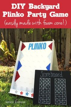 Backyard Plinko | 25+ Yard Games