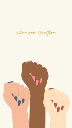 Happy International Women's Day 👯♀️We decided to collab with local designers to make the cutest wallpapers that encourage + inspire women to be the best versions of themselves! Wallpaper For Your Phone, New Wallpaper, Happy International Women's Day, Ladies Day, Cute Wallpapers, Encouragement, Designers, Typography, Inspire