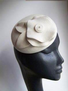 Womens Cocktail Hat by MindYourBonce
