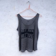 'Curiouser and Curiouser' eco-friendly tencel vest for women