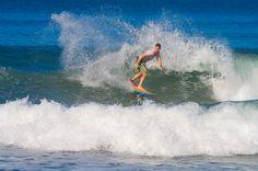 surfing guiones beach nosara  - Costa Rica