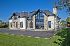 A choice of four properties on the market which will attract golf fans. Bungalow Exterior, Dream House Exterior, Dream House Plans, Dream Houses, House Designs Ireland, Ireland Homes, House Ireland, Dream Home Design, House Goals