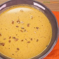 Creamy Pumpkin Ginger Soup by Jane Jaume! #TheChew