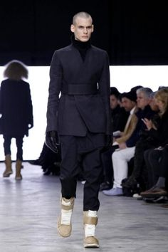 Rick Owens Fall Winter Menswear 2013 Paris