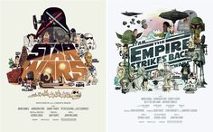 A brilliant take on Star Wars.