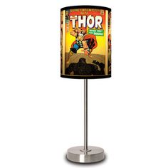Just ordered for Hudson's nursery! The Mighty Thor Covers Lamp now featured on Fab.