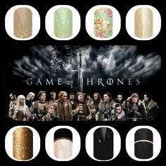 Are you a Game of Thrones fan? Show your support with some inspired nail wraps from Jamberry Nails. http://novanailwraps.jamberrynails.net