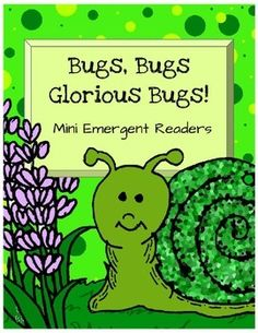 """Bugs and Insects Emergent ReadersWho can play? Preschool Kindergarten Homeschool Your early readerLet's Play!My Green Shape BookEach page repeats the sentence """"This is a green ... """" fill in shape.Great for sight words and names of shapes.Shapes included in this 10 page book: circle square triangle rectangle oval star hexagon diamond heart octagonI am an InsectThis book repeats the sentence, """"I am a/an"""" fill in insect."""