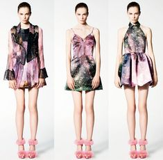 Christopher Kane started this and it just won't go away, the universe is just too awesome.