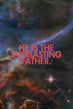 """""""He is the everlasting Father."""" Amen! www.reachavillage.org"""