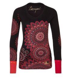 Desigual DOLLY T-shirt à manches longues noir prix promo Zalando 70.00 € TTC