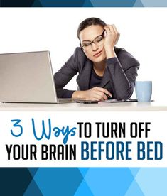 Not being able to get to sleep at night is, well, exhausting! Learn how to turn off your brain and get a great night's sleep. Ways To Sleep, How To Sleep Faster, Sleep Help, How To Get Sleep, Good Sleep, Types Of Sleep Apnea, What Causes Sleep Apnea, Bedtime Routine, Night Routine