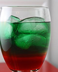 """My daughter would love this multi-colored """"mocktail""""!"""