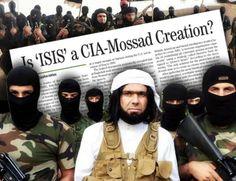 ISIS creazione del Mossad e CIA