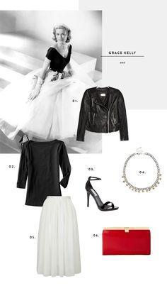 grace kelly, style, retro, vintage fashion, rear window, hitchcock costumes, prince rainier, casual grace kelly, grace kelly's little black dress