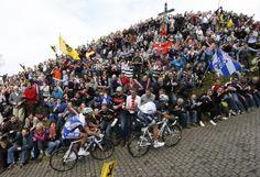 De Ronde van Vlaanderen - Muur de Geraardsbergen. The most iconic climb in world cycling.