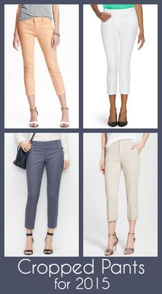 Fashion for Women Over 40: Cropped Pants for 2015 (the better alternative to capri pants)