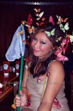 Fun Homemade Swarm of Butterflies Costume