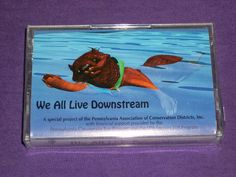 We All Live Downstream - Sealed Cassette Tape - Pa. Association Of Conservation