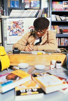 Osamu TEZUKA, the father of manga, born in Osaka Pref., Japan マンガの神様 手塚治虫