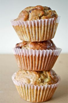 So Sweet I Could Hardly Speak: Easy Banana Muffins...these are very easy to make and taste delicious!!