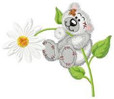 Cute Teddy bear free embroidery design - Cartoon free embroidery collection - Machine embroidery forum
