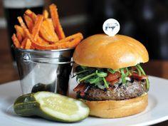 Holsteins Gold Standard burger - The Cosmopolitan in Las Vegas