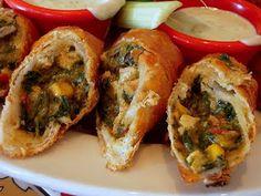 """""""Chili's"""" Southwest Eggrolls"""
